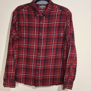 Eddie Bauer Large Red Flannel